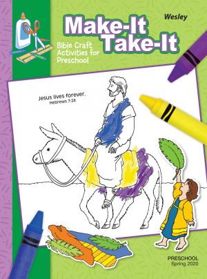 Wesley Preschool Make It/Take it Craft Activities  (Spring)