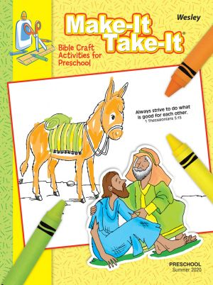 Wesley Preschool Make It/Take it Craft Activities (Summer)