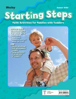 Wesley Toddler/2 Starting Steps, Take-Home Paper (Summer)