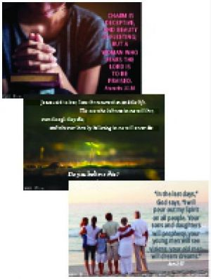 Word Action Adult Faith Connections Poster Set (Spring)