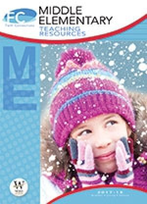 Word Action Middle Elementary Teaching Resources (Winter)