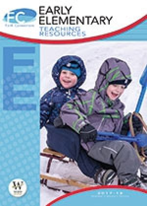 Word Action Early Elementary Teaching Resources (Winter)