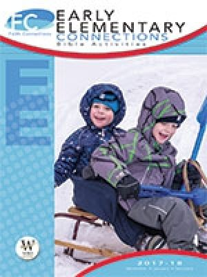 Word Action Early Elementary Bible Activities (Winter)