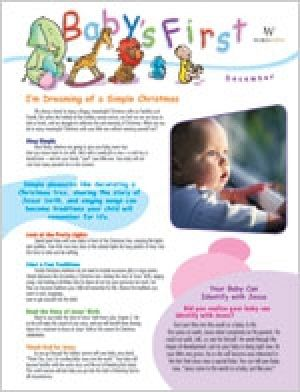 Word Action Baby's First Parent Newsletter (Winter)