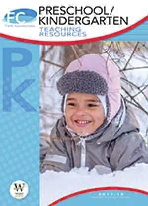 Word Action Preschool/Kindergarten Teaching Resources (Winter)