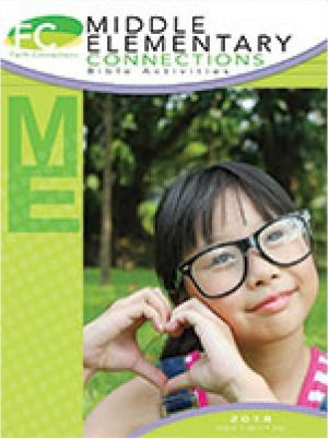 Word Action Middle Elementary Bible Activities (Spring)