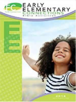 Word Action Early Elementary Bible Activities (Spring)