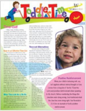 Word Action Toddler time Parent Newsletter (Summer)
