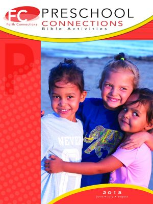 Word Action Preschool Bible Activities, Ages 3&4  (Summer)