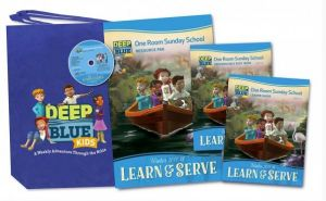 Deep Blue One Room Sunday School Kit (Winter)