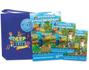 Deep Blue One Room Sunday School Kit (Summer)