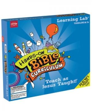 Hands-On Bible Curriculum for Toddlers & 2s Learning Lab (Spring)