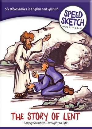 The Story of Lent DVD (Speed Sketch Bible Stories)