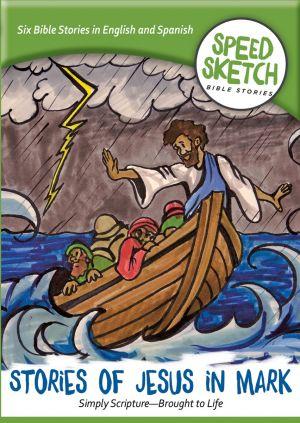 Stories of Jesus in Mark DVD (Speed Sketch Bible Stories Series)