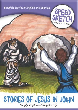 Stories of Jesus in John DVD (Speed Sketch Bible Stories)