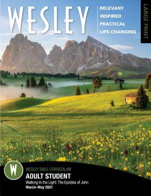 Wesley Adult Bible Student, Large Print (Spring)