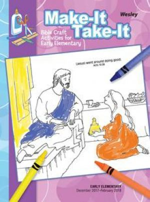 Wesley Early Elementary Make It/Take It Craft Activities (Winter)