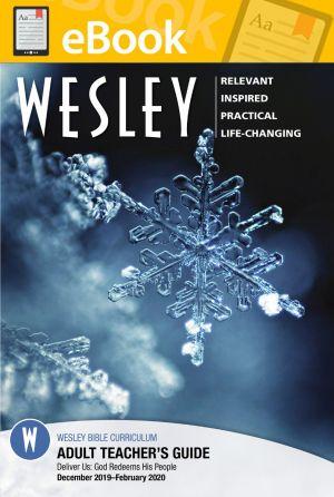 Wesley Adult Bible Teacher  (WINTER) **E-BOOK**