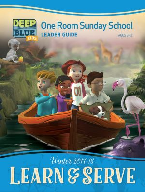 Deep Blue One Room Sunday School Extra Leader's Guide (Winter)