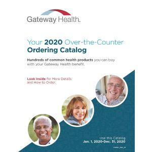 Gateway - 2020 Enhanced OTC Catalog w/Gate-Fold Form