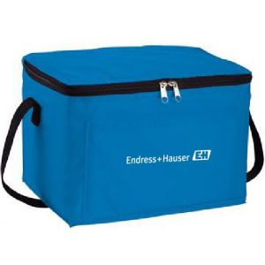 Blue 6 pack lunch cooler