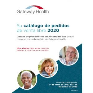 2020 Enhanced OTC Catalog w/Gate-Fold Form - Spanish