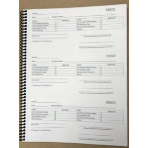 Trust Disbursement Receipt Book