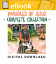 Parables of Jesus Complete Collection - English & Spanish (Speed Sketch Bible Stories)